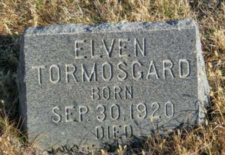 TORMOSGARD, ELVEN - Lincoln County, South Dakota   ELVEN TORMOSGARD - South Dakota Gravestone Photos