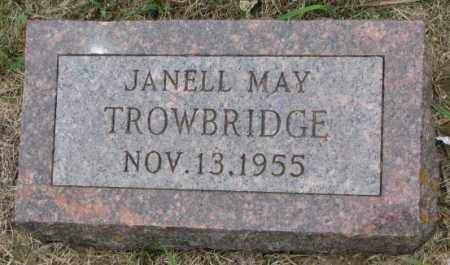 TROWBRIDGE, JANELL MAY - Lincoln County, South Dakota | JANELL MAY TROWBRIDGE - South Dakota Gravestone Photos