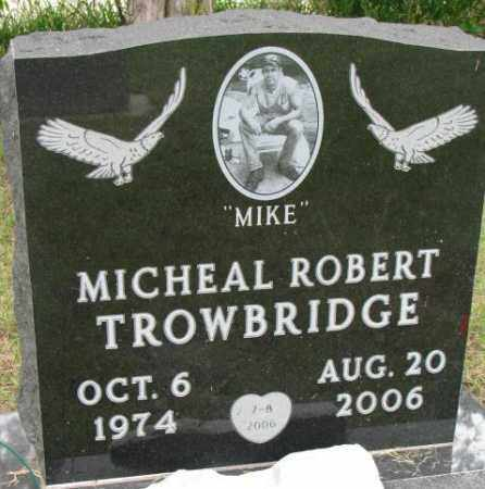 TROWBRIDGE, MICHEAL ROBERT - Lincoln County, South Dakota   MICHEAL ROBERT TROWBRIDGE - South Dakota Gravestone Photos