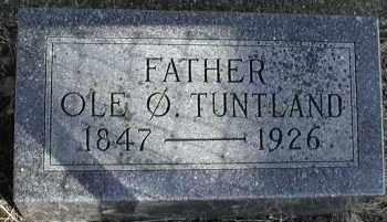 TUNTLAND, OLE OYSTEINSON - Lincoln County, South Dakota   OLE OYSTEINSON TUNTLAND - South Dakota Gravestone Photos
