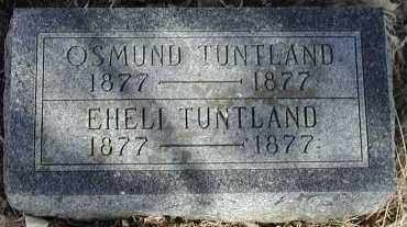 TUNTLAND, OSMUND - Lincoln County, South Dakota | OSMUND TUNTLAND - South Dakota Gravestone Photos