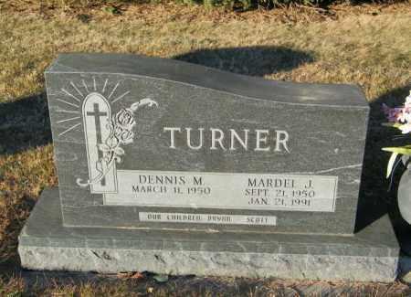 TURNER, MARDEL J - Lincoln County, South Dakota | MARDEL J TURNER - South Dakota Gravestone Photos