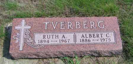 TVERBERG, RUTH A - Lincoln County, South Dakota | RUTH A TVERBERG - South Dakota Gravestone Photos