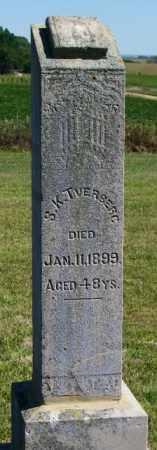 TVERBERG, S.K. - Lincoln County, South Dakota | S.K. TVERBERG - South Dakota Gravestone Photos