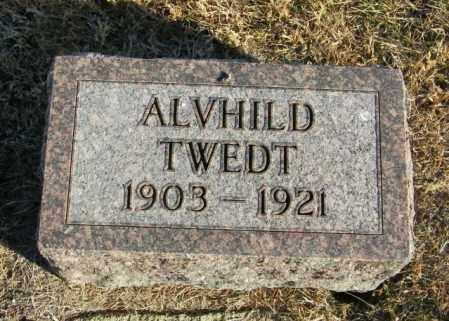 TWEDT, ALVHILD - Lincoln County, South Dakota   ALVHILD TWEDT - South Dakota Gravestone Photos