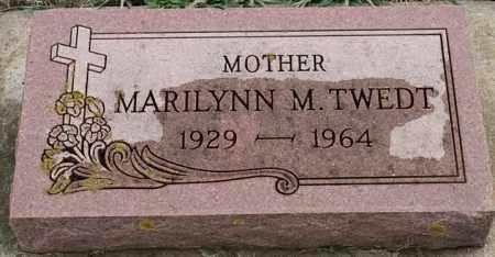 TWEDT, MARILYNN M - Lincoln County, South Dakota | MARILYNN M TWEDT - South Dakota Gravestone Photos