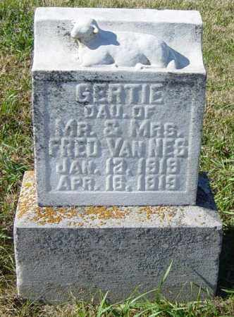 VAN NESS, GERTIE - Lincoln County, South Dakota | GERTIE VAN NESS - South Dakota Gravestone Photos