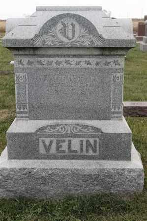 VELIN, PETER J - Lincoln County, South Dakota | PETER J VELIN - South Dakota Gravestone Photos