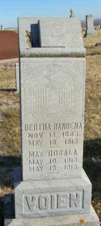 VOIEN, MAY ROSALA - Lincoln County, South Dakota | MAY ROSALA VOIEN - South Dakota Gravestone Photos