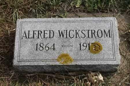 WICKSTROM, ALFRED - Lincoln County, South Dakota   ALFRED WICKSTROM - South Dakota Gravestone Photos