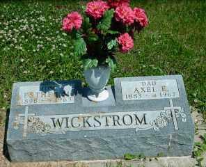 WICKSTROM, AXEL E. - Lincoln County, South Dakota | AXEL E. WICKSTROM - South Dakota Gravestone Photos
