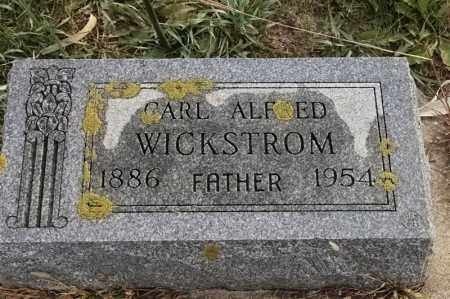 WICKSTROM, CARL ALFRED - Lincoln County, South Dakota | CARL ALFRED WICKSTROM - South Dakota Gravestone Photos