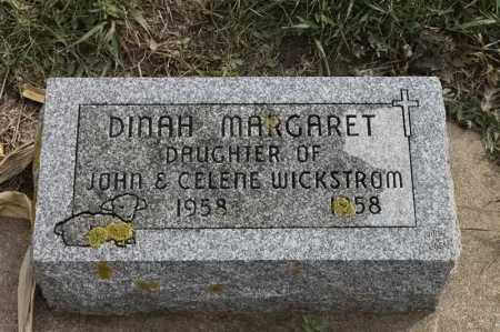 WICKSTROM, DINAH MARGARET - Lincoln County, South Dakota | DINAH MARGARET WICKSTROM - South Dakota Gravestone Photos