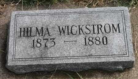 WICKSTROM, HILMA - Lincoln County, South Dakota | HILMA WICKSTROM - South Dakota Gravestone Photos