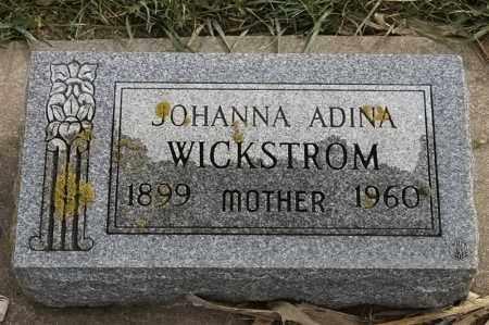 WICKSTROM, JOHANNA ADINA - Lincoln County, South Dakota | JOHANNA ADINA WICKSTROM - South Dakota Gravestone Photos