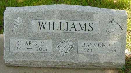 WILLIAMS, CLARIS C - Lincoln County, South Dakota | CLARIS C WILLIAMS - South Dakota Gravestone Photos