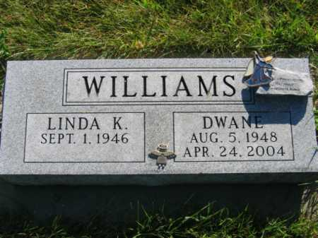 WILLIAMS, LINDA K - Lincoln County, South Dakota | LINDA K WILLIAMS - South Dakota Gravestone Photos