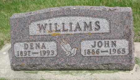 WILLIAMS, JOHN - Lincoln County, South Dakota | JOHN WILLIAMS - South Dakota Gravestone Photos