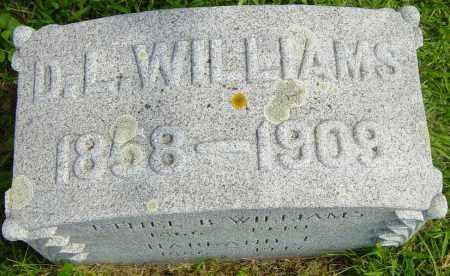 WILLIAMS, D L - Lincoln County, South Dakota   D L WILLIAMS - South Dakota Gravestone Photos