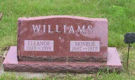 WILLIAMS, MONROE - Lincoln County, South Dakota | MONROE WILLIAMS - South Dakota Gravestone Photos
