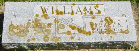 WILLIAMS, VERRET K - Lincoln County, South Dakota | VERRET K WILLIAMS - South Dakota Gravestone Photos
