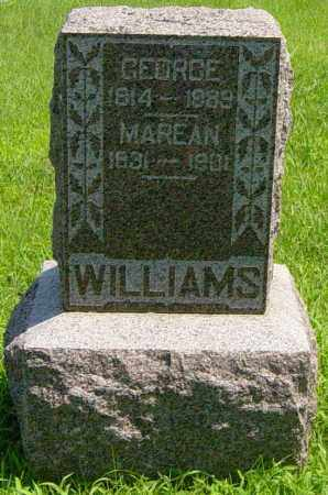 WILLIAMS, GEORGE - Lincoln County, South Dakota | GEORGE WILLIAMS - South Dakota Gravestone Photos