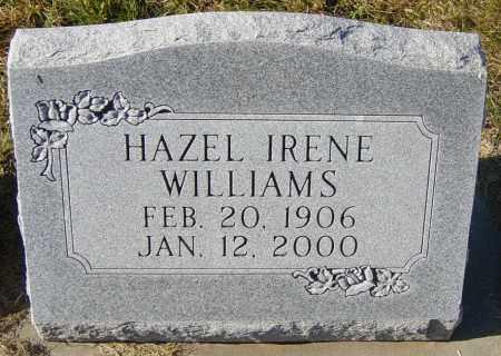 WILLIAMS, HAZEL IRENE - Lincoln County, South Dakota | HAZEL IRENE WILLIAMS - South Dakota Gravestone Photos