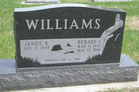 WILLIAMS, RICHARD C. - Lincoln County, South Dakota | RICHARD C. WILLIAMS - South Dakota Gravestone Photos