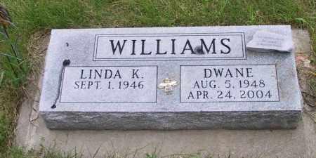 WILLIAMS, DWANE - Lincoln County, South Dakota | DWANE WILLIAMS - South Dakota Gravestone Photos