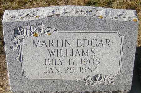 WILLIAMS, MARTIN EDGAR - Lincoln County, South Dakota | MARTIN EDGAR WILLIAMS - South Dakota Gravestone Photos