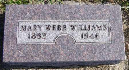 WILLIAMS, MARY - Lincoln County, South Dakota | MARY WILLIAMS - South Dakota Gravestone Photos