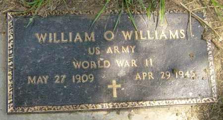 WILLIAMS, WILLIAM O - Lincoln County, South Dakota   WILLIAM O WILLIAMS - South Dakota Gravestone Photos