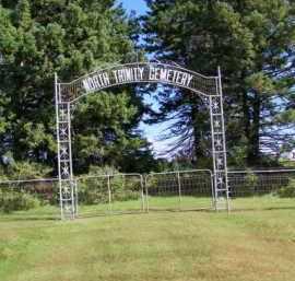 *NORTH TRINITY LUTHERAN, GATE & GPS - Lincoln County, South Dakota | GATE & GPS *NORTH TRINITY LUTHERAN - South Dakota Gravestone Photos