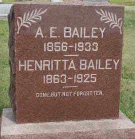 BAILEY, A. E. - Lyman County, South Dakota | A. E. BAILEY - South Dakota Gravestone Photos