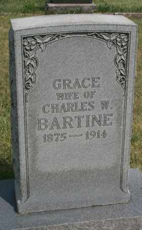 BARTINE, GRACE - Lyman County, South Dakota | GRACE BARTINE - South Dakota Gravestone Photos