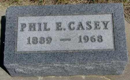CASEY, PHIL E. - Lyman County, South Dakota   PHIL E. CASEY - South Dakota Gravestone Photos