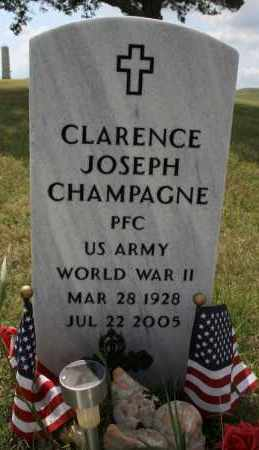 CHAMPAGNE, CLARENCE JOSEPH - Lyman County, South Dakota | CLARENCE JOSEPH CHAMPAGNE - South Dakota Gravestone Photos