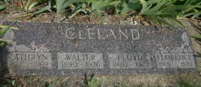 CLELAND, FLORENCE - Lyman County, South Dakota | FLORENCE CLELAND - South Dakota Gravestone Photos