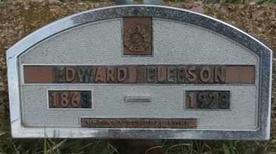 ELEESON, EDWARD - Lyman County, South Dakota | EDWARD ELEESON - South Dakota Gravestone Photos