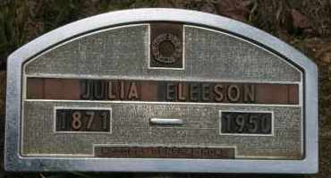 ELEESON, JULIA - Lyman County, South Dakota | JULIA ELEESON - South Dakota Gravestone Photos