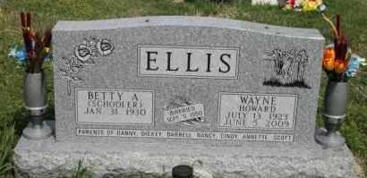 ELLIS, BETTY E - Lyman County, South Dakota | BETTY E ELLIS - South Dakota Gravestone Photos