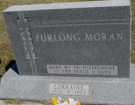 FURLONG, MORAN - Lyman County, South Dakota | MORAN FURLONG - South Dakota Gravestone Photos
