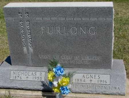 FURLONG, AGNES - Lyman County, South Dakota | AGNES FURLONG - South Dakota Gravestone Photos