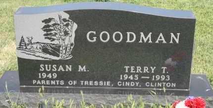 GOODMAN, SUSAN M - Lyman County, South Dakota | SUSAN M GOODMAN - South Dakota Gravestone Photos