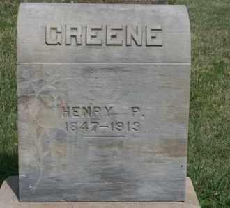 GREENE, HENRY P - Lyman County, South Dakota | HENRY P GREENE - South Dakota Gravestone Photos