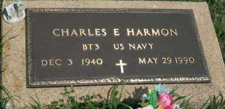 HARMON, CHARLES E - Lyman County, South Dakota | CHARLES E HARMON - South Dakota Gravestone Photos