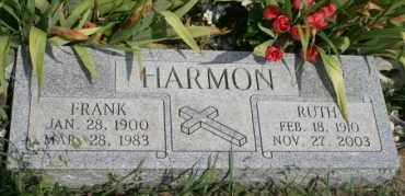 HARMON, RUTH - Lyman County, South Dakota | RUTH HARMON - South Dakota Gravestone Photos