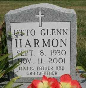 HARMON, OTTO GLENN - Lyman County, South Dakota   OTTO GLENN HARMON - South Dakota Gravestone Photos