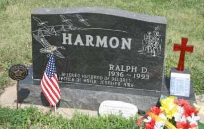 HARMON, RALPH D - Lyman County, South Dakota | RALPH D HARMON - South Dakota Gravestone Photos