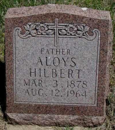 HILBERT, ALOYS - Lyman County, South Dakota   ALOYS HILBERT - South Dakota Gravestone Photos